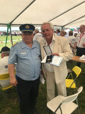 Pest Megyei Rendőr-főkapitányság kitüntetése